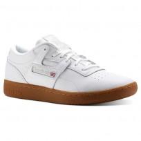 Reebok Club Workout Shoes Mens White/Grey CN5076