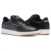 Shoes Reebok Club C 85 Mens Black/White AR0458