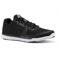 Reebok Sprint Tr Training Shoes Mens Black/White CN1227