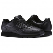 Reebok Royal Glide Shoes Mens Black/Grey/Royal V53959