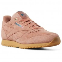 Reebok Classic Leather Shoes Boys Apricot CN5169
