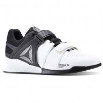 Reebok Legacy Lifter Shoes Mens White/Black BD1793