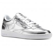 Reebok Club C 85 Schuhe Damen Silber/Weiß CM8686
