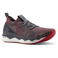 Reebok Floatride Rs Ultk Lifestyle Shoes Mens Grey/Red/White CN1090