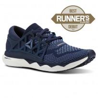 Reebok Custom Floatride Run Running Shoes Womens Navy/Blue/White CN2587