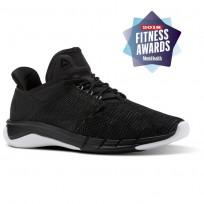 Reebok Fast Flexweave Running Shoes Womens Black/Grey/White CN1401