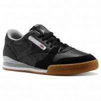 Reebok Phase 1 Pro Cv Shoes Mens Black/White/Grey CM9288