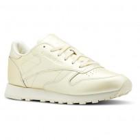 Reebok Classic Leather Schuhe Damen Gelb CN5469