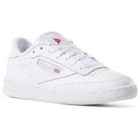 Reebok Club C 85 Shoes Womens White/Light Grey BS7685