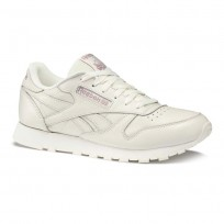 Reebok Classic Leather Shoes Womens Beige DV4888