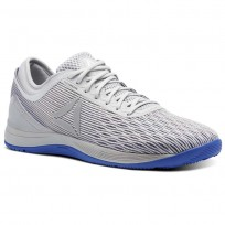 Reebok Crossfit Nano Shoes Mens Grey/White/Grey/White CN1025