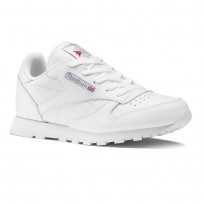 Reebok Classic Leather Shoes Kids White 50172