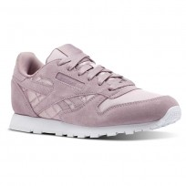 Reebok Classic Leather Shoes Girls White CN5514
