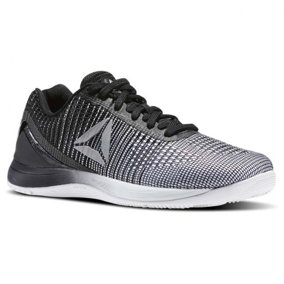 Reebok Crossfit Nano Training Shoes Womens Grey/Beige/White/Black/Silver Metallic BS8352