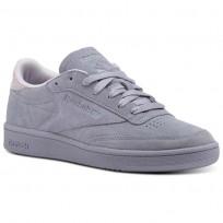 Shoes Reebok Club C 85 Womens Purple CM9055