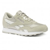 Reebok Cl Nylon Shoes Boys Grey/Silver CN8530