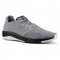 Reebok Print Running Shoes Mens Grey/White CN2502