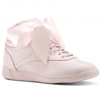 Shoes Reebok Freestyle Hi Womens Pink/Grey CM8905