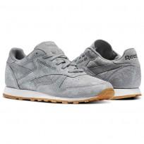 Reebok Classic Leather Schuhe Damen Grau BS8228