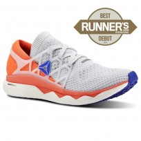 Reebok Floatride Run Running Shoes Mens White/Grey/Red/Blue CN4949