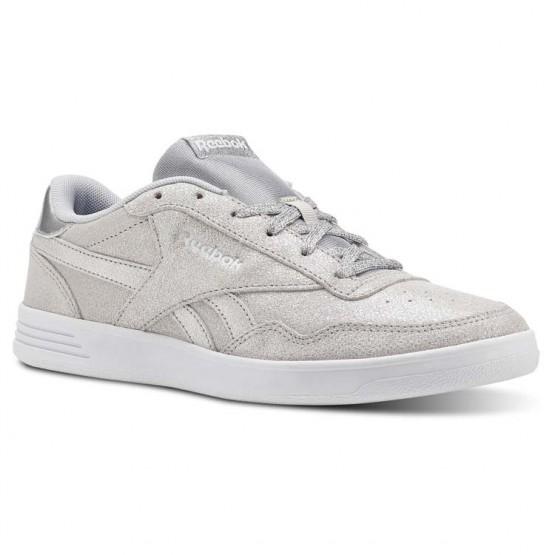 Reebok Royal Techque Schuhe Damen Silber Metal/Weiß/Grau CN4288