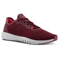 Reebok Flexagon Training Shoes Womens Deep Red CN2608
