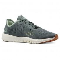 Reebok Flexagon Training Shoes Womens Green/Lemon CN5193