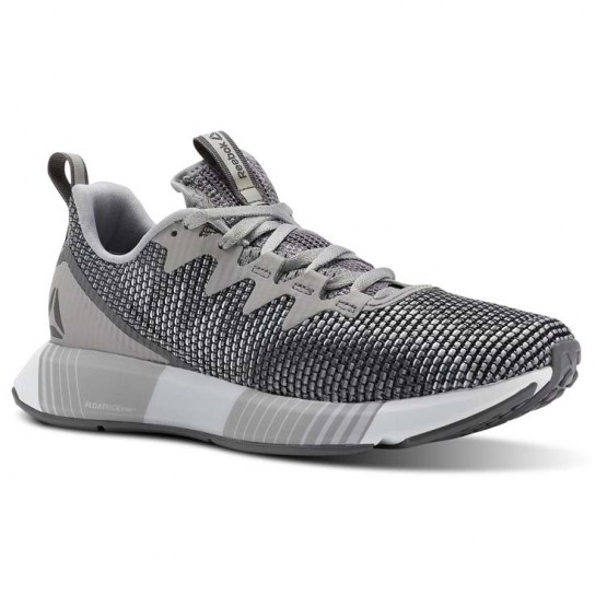 Reebok Fusion Flexweave Running Shoes Womens Grey/White CN2858