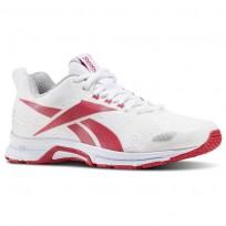 Reebok Triplehall 6.0 Running Shoes Womens White/Pink/Grey BD5478