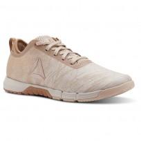 Reebok Speed Training Shoes Womens Beige/Copper CN2693
