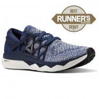Reebok Floatride Run Running Shoes Mens Navy/Wash Blue/Grey CM9056