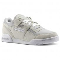 Reebok Workout Shoes Mens Grey/Royal/Red/White/Silver CM8688