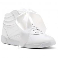 Reebok Freestyle Hi Schuhe Damen Weiß/Grau CM8903
