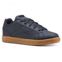 Reebok Royal Complete Shoes Boys Navy/Deep Grey CN4804