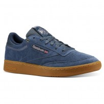 Reebok Club C 85 Shoes Mens Blue CN3864