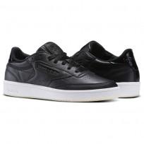 Reebok Club C 85 Shoes Womens Black/White BD5816