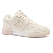 Zapatillas Reebok Workout Plus Mujer Rosas/Blancas/Rosas Doradas CN5835