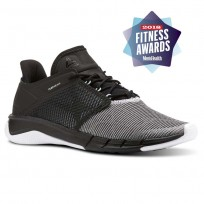 Reebok Fast Flexweave Running Shoes Womens Black/Blue/White/Grey CN2535