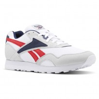 Shoes Reebok Rapide Mu Mens Grey/White/Navy/Red CN5906