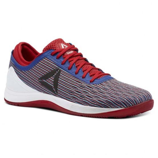 Reebok Crossfit Nano Shoes Mens Red/Royal/White CN1031