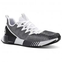 Zapatillas Running Reebok Fusion Flexweave Hombre Blancas/Gris/Negras CN4713