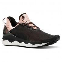 Reebok Floatride Run Smooth Running Shoes Womens Black/Pink CN2690