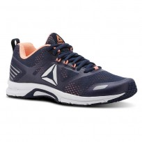 Reebok Ahary Runner Running Shoes Womens White/Navy/Pink CN5345