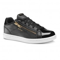 Reebok Royal Complete Schuhe Mädchen Schwarz/Gold DV3672