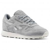 Reebok Classic Leather Schuhe Damen Grau/Silber BS9864