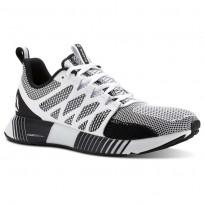 Reebok Fusion Flexweave Cage Running Shoes Mens White/Black/Grey CN2880