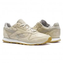 Reebok Classic Leather Shoes Womens Grey BS8227