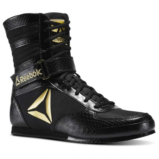Reebok Boxing Tactical Shoes Mens Black/Gold CN5079