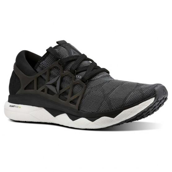 Reebok Floatride Run Running Shoes Mens Black/White/Grey CN5227