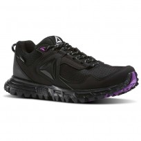 Reebok Sawcut Walking Shoes Womens Black/Purple/Grey BD6012